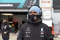 El pitstop más reivindicativo de Hamilton (fuera de la F1)