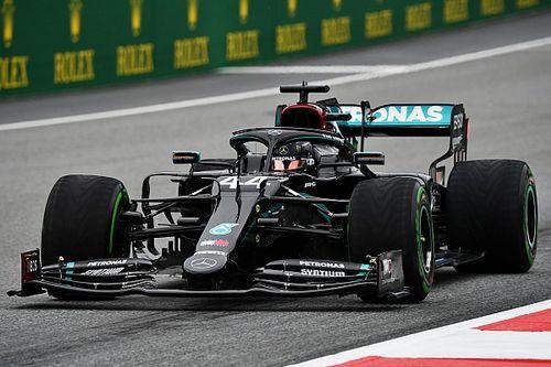 2020 Avusturya GP 1. antrenman: Mercedes hızlı başladı, Hamilton lider!