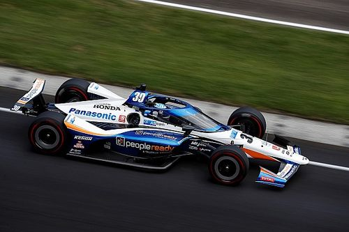 """Sato: """"Extremely challenging"""" to make passes at Indy this year"""