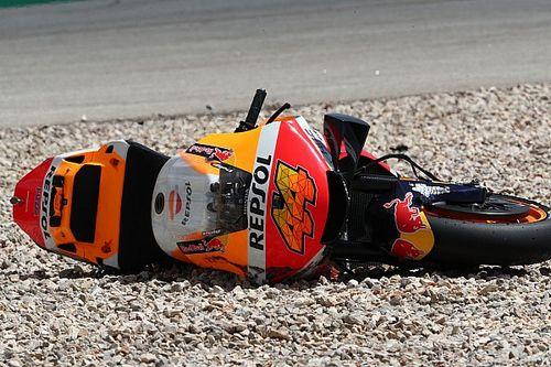 Honda no se tiene en pie en MotoGP