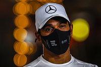Hamilton test positief op corona, mist Sakhir Grand Prix