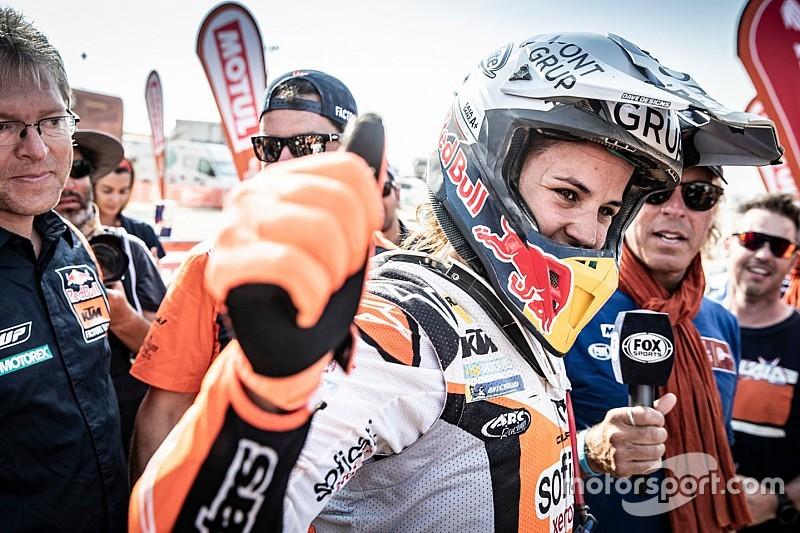 Fotos: alegría, orgullo, alivio y emoción en el final de la dura aventura del Dakar