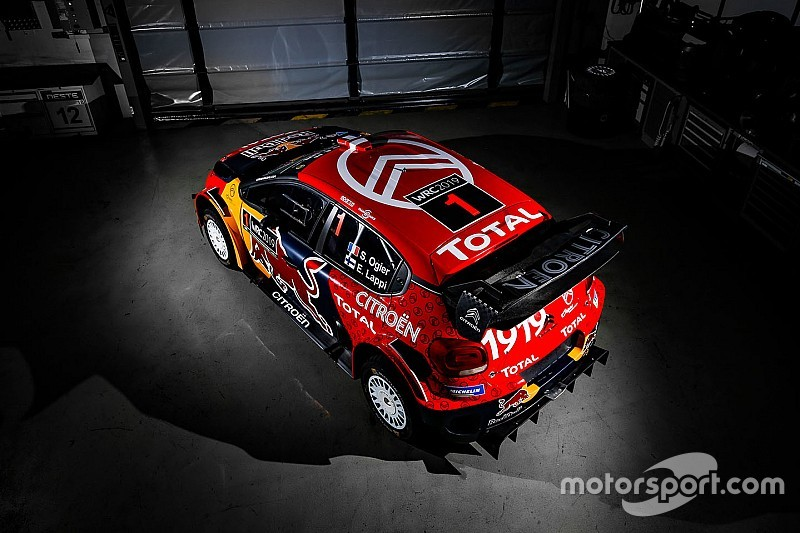 Fotogallery WRC: Ogier con i colori Citroen e la nuova livrea celebrativa 2019 delle C3