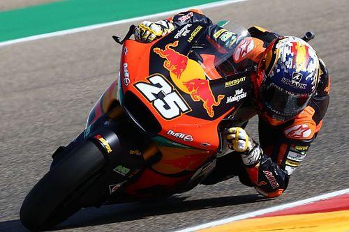 Un lesionado Fernández vence en Aragón en Moto2