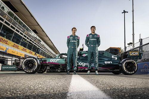 Aston Martin confirme Vettel et Stroll pour 2022