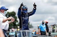 Rosenqvist boekt eerste IndyCar-zege op Road America