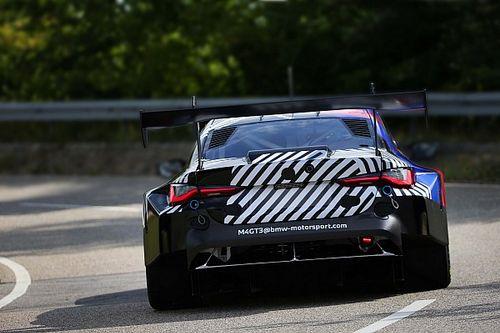 BMW показала первые испытания M4 для гонок в классе GT