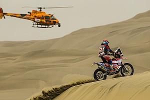 Dakar-debutant Tielemans valt uit op voorlaatste dag