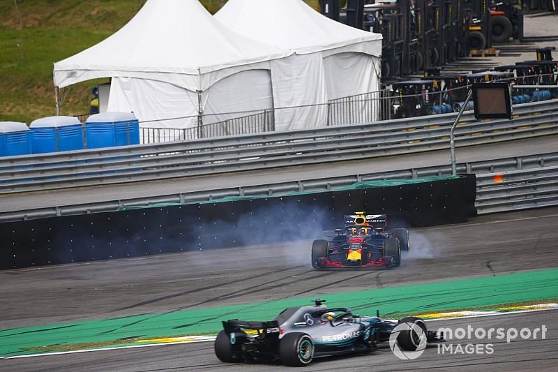 Hamilton echa más leña al fuego y cuestiona el incidente de Verstappen