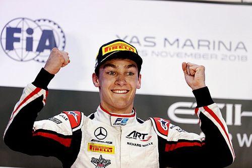 Mercedes-Junior George Russell ist Formel-2-Meister 2018