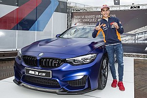 MotoGP fastest qualifier Marc Marquez wins BMW M3 CS