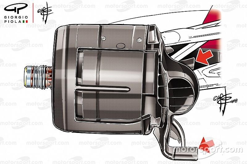 Technique - Ferrari n'abandonne pas et continue de développer sa SF71H
