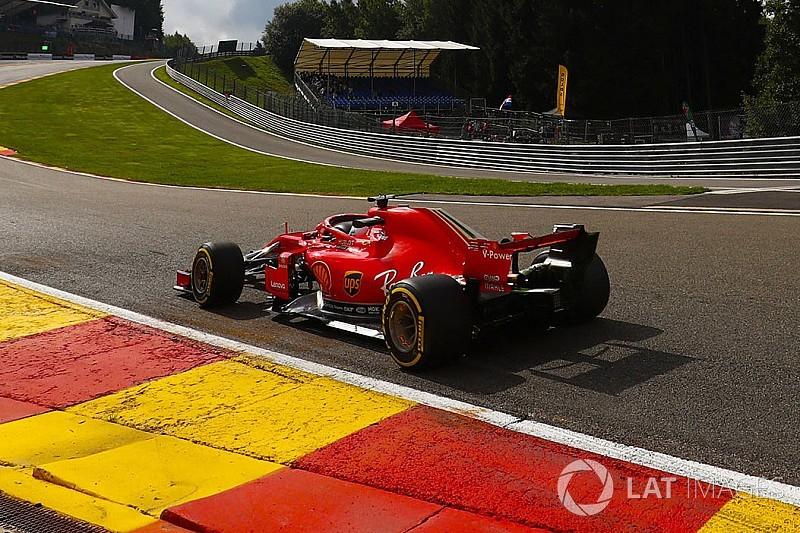 Vettel nyerte az első szabadedzést Belgiumban a Red Bull előtt