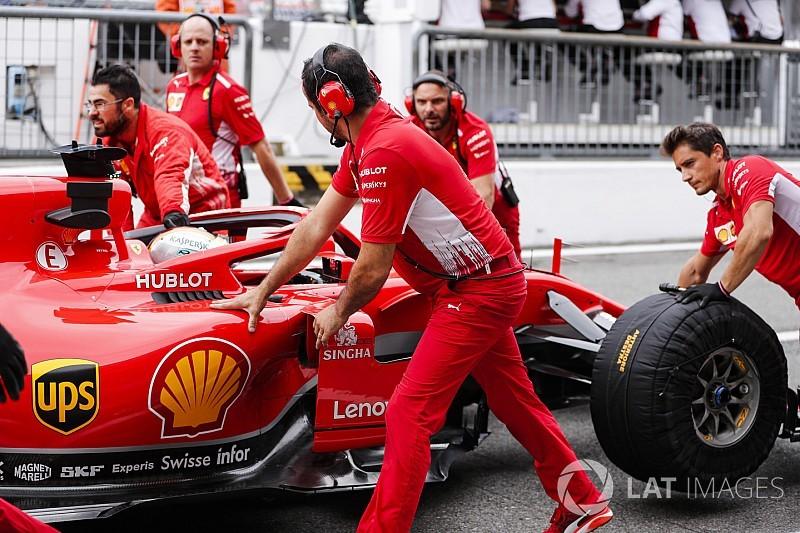 イタリアFP2:ベッテルが首位でフェラーリ1-2。エリクソン大クラッシュ