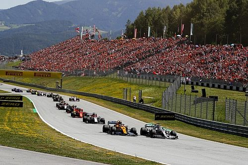 Ook 15.000 fans welkom bij eerste van twee F1-races in Oostenrijk