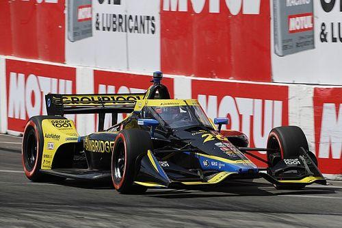 Long Beach IndyCar: Herta leads Dixon in warm-up