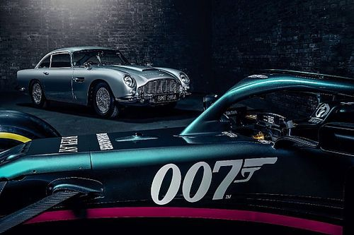 Aston Martin to race with 007 branding at Monza ahead of new Bond film