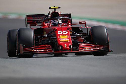 サインツJr.、ミディアムタイヤのグレイニングに苦しみポルトガルGP入賞逃す「ハードタイヤの方が良かった……」