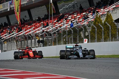 Онлайн. Гран При Испании. Первая тренировка
