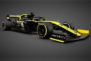 雷诺RS19赛车亮相