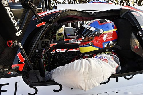 Mid-Ohio IMSA: Montoya tops wet opening practice