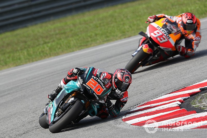 Quartararo continue son apprentissage du MotoGP