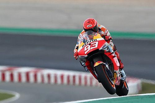 Márquez pone en duda que pueda completar la carrera