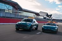 Aston Martin muestra el coche de seguridad y médico para la F1