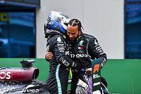"""Hamilton pede """"mais respeito"""" a Bottas após críticas: """"Não é fácil ser meu companheiro de equipe"""""""