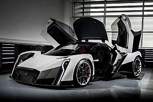 Automotive Nieuws Vanda Dendrobium met Formule E-technologie van Williams