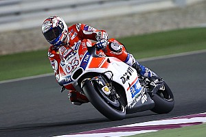 MotoGP Testing report Dovizioso dominates first day of Qatar test, Marquez falls twice