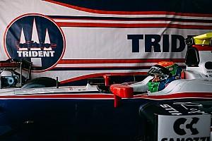 FIA F2 Ultime notizie Sergio Canamasas in Bahrain con la Trident per la prima della F2