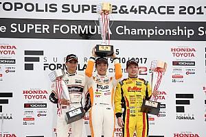 全日本F3 速報ニュース 第17戦オートポリス:坪井、5連勝で今季7勝目。ランク首位高星を猛追