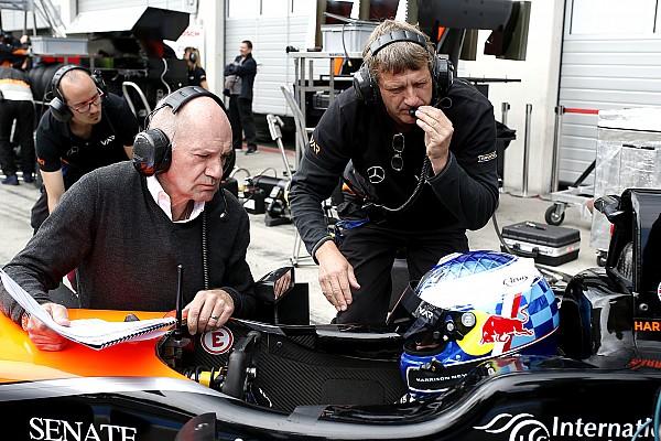 Formule 3: overig Special feature Zoon van F1-ontwerper Newey: