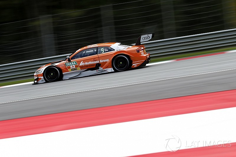 DTM Red Bull Ring: Green snelste in uitgestelde training