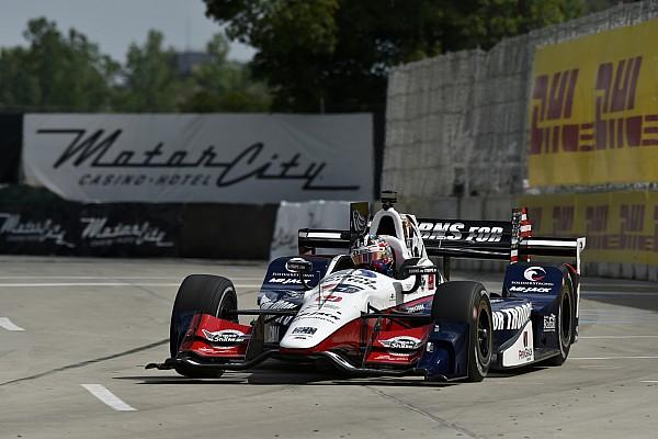 IndyCar IndyCar-Double-Header in Detroit: Graham Rahal dominiert Rennen 1