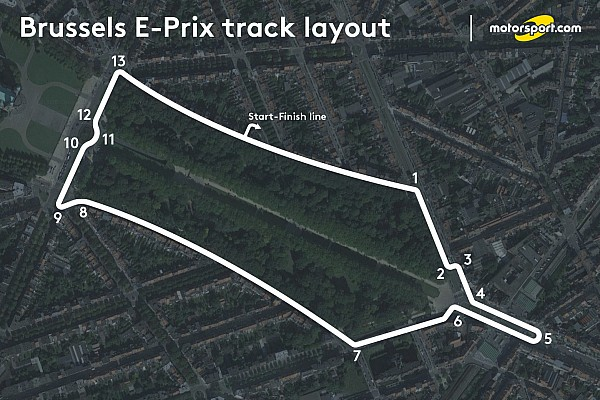 Jaguar-Pilot: Formel-E-Rennen in Brüssel wird ein Hit