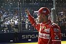 Vettel destaca emoção ao cravar pole