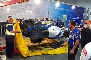 IndyCar Noticias de última hora VIDEO: Gutiérrez choca en la calificación en Toronto