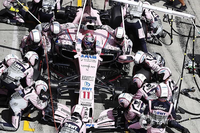 Force India, pit stoplara nasıl hazırlanıyor?