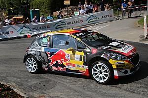 Rallye suisse Rapport d'étape Rallye du Chablais : Carron devant Loeb après les deux premiers essais