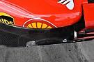 Ferrari verstevigt vloer na geruchten over vermeende flexibiliteit