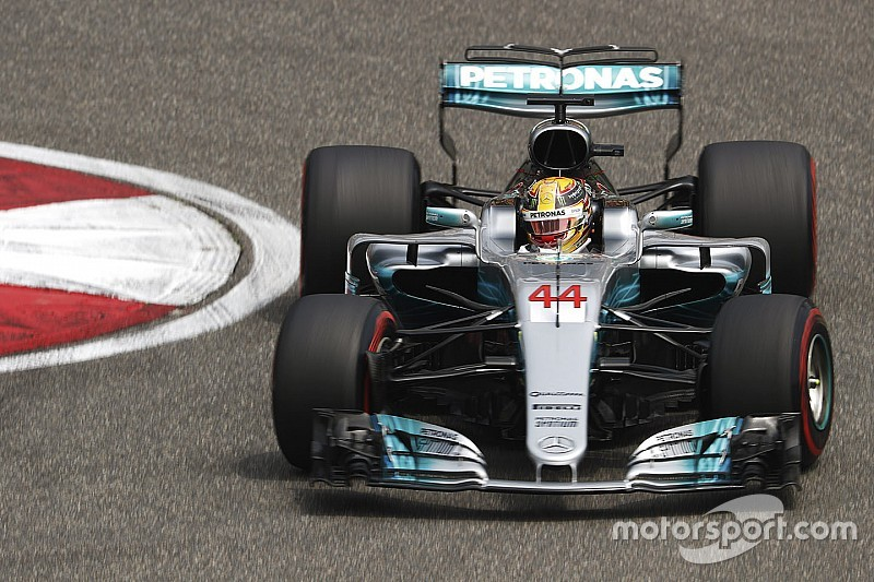 【F1】中国GP予選速報:ハミルトンが連続PP獲得! ベッテルが2番手