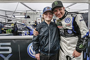 World Rallycross Breaking news Solberg's son to become youngest rallycross Supercar driver