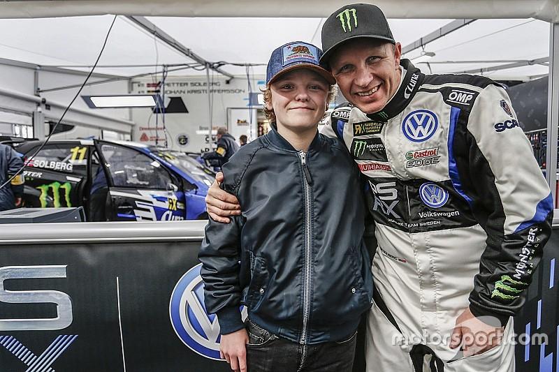 Сын Сольберга станет самым юным гонщиком высшего класса ралли-кросса