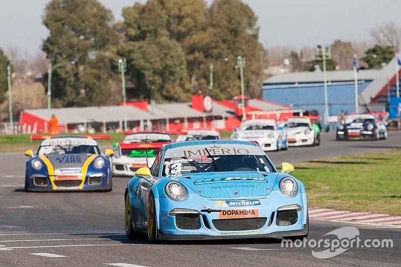 Victorias de Baptista y Khouri en la Porsche GT3 Cup en Buenos Aires