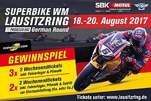 Superbike-WM Feature Gewinnspiel: Gewinne Tickets für die Superbike-WM am Lausitzring