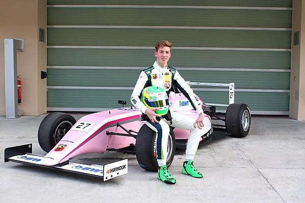 Formel 4 News David Schumacher startet bei Formel-4-Rennen in Abu Dhabi