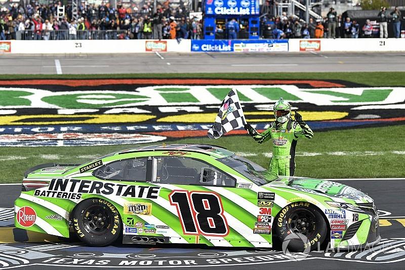 NASCAR in Fort Worth: Texas-Triumph für Kyle Busch