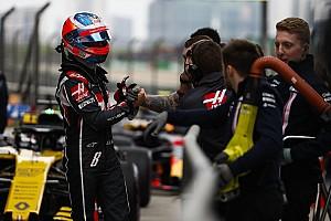 Les problèmes de freins, c'est fini pour Grosjean!